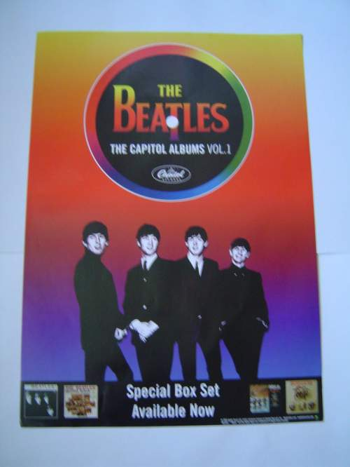Four Different Beatles Original Advertising Posters Set 2 image-3