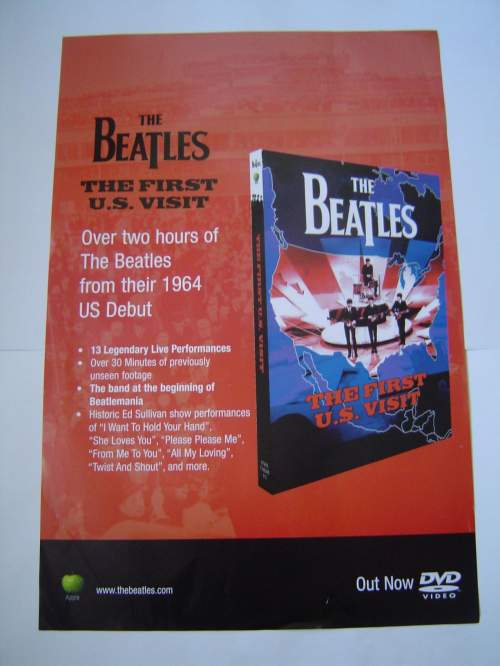 Four Different Beatles Original Advertising Posters Set 2 image-4