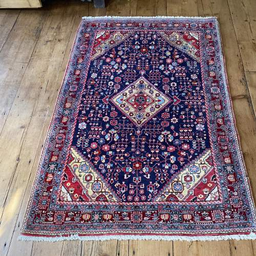 Superb Old Hand Knotted Persian Rug Malayer image-1