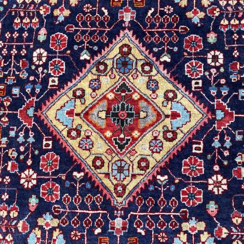 Superb Old Hand Knotted Persian Rug Malayer image-2