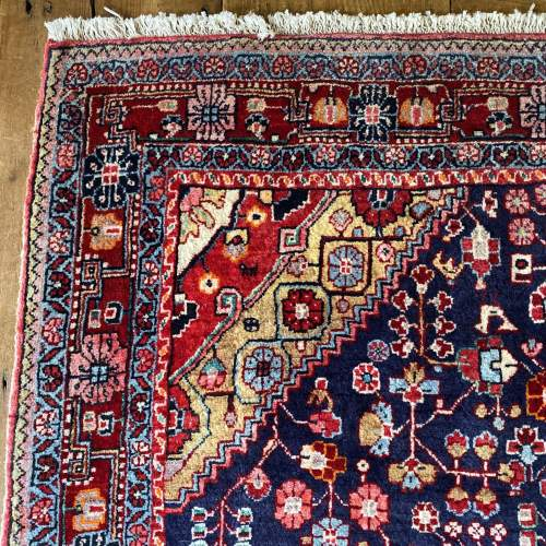 Superb Old Hand Knotted Persian Rug Malayer image-3