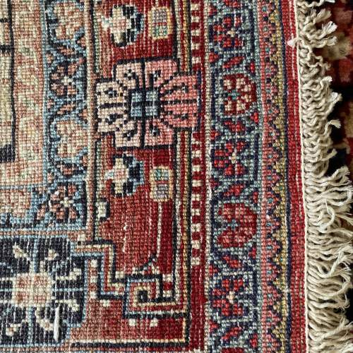 Superb Old Hand Knotted Persian Rug Malayer image-4