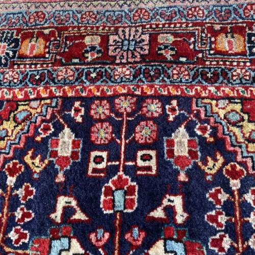 Superb Old Hand Knotted Persian Rug Malayer image-5