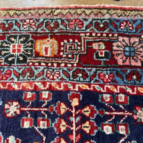 Superb Old Hand Knotted Persian Rug Malayer image-6