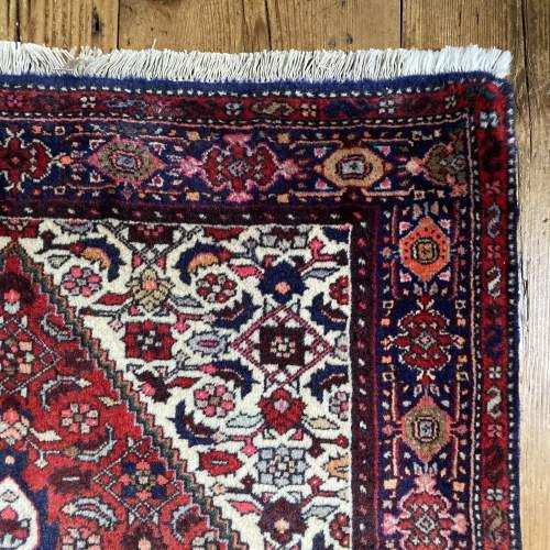 Hand Knotted Persian Bidjar Rug image-4