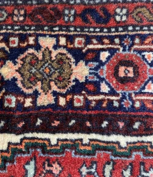 Hand Knotted Persian Bidjar Rug image-6