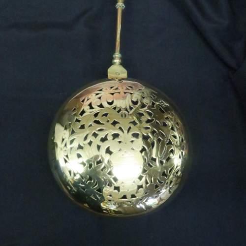 17th Century Dutch Brass Bed Warming Pan image-4