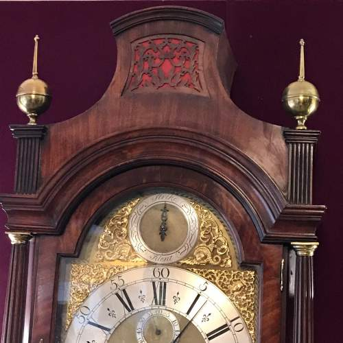 Early 18th Century London Mahogany Longcase Clock image-6