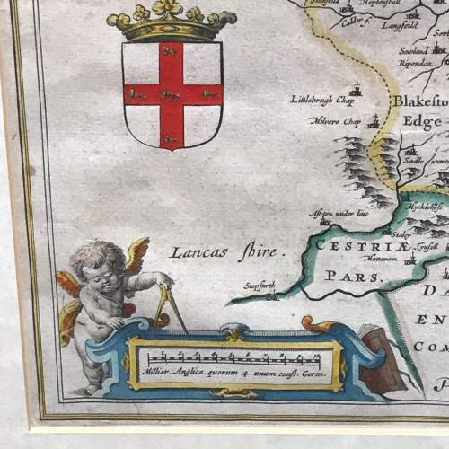 Mid 17th Century Early Map of Yorkshire image-4