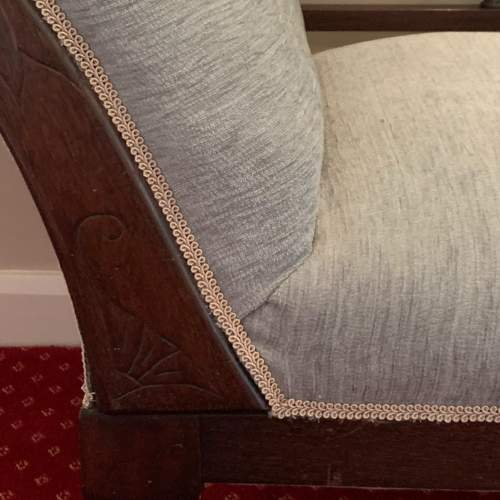 Victorian Upholstered Chaise Longue image-3