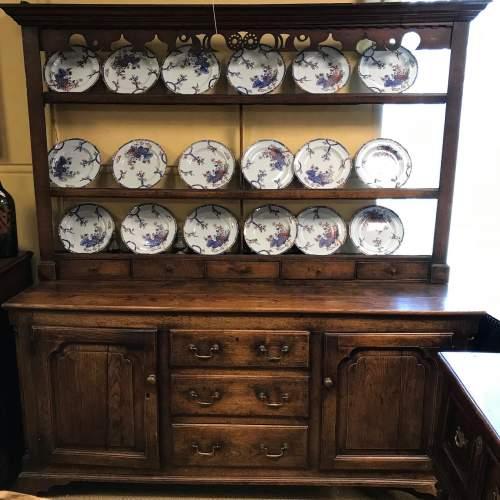 George II 18th Century Oak Dresser image-1