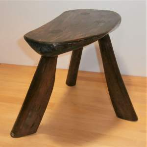 Good Quality Unique Hand Crafted Ash Three Legged Stool