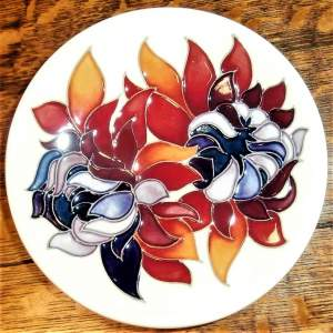 Moorcroft Coaster designed by Emma Bossons