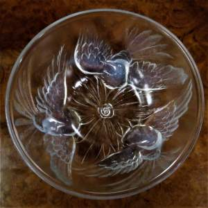 A Fine 1930s Jobling Opalescent Glass Bowl