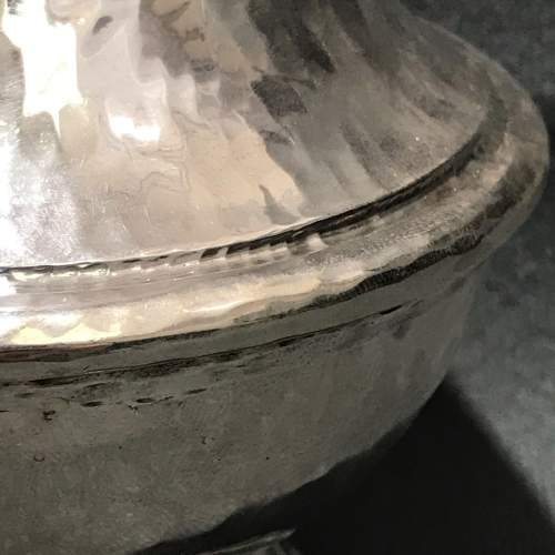 Omar Ramsden and Alwyn Carr Baluster Form Silver Sugar Castor image-4