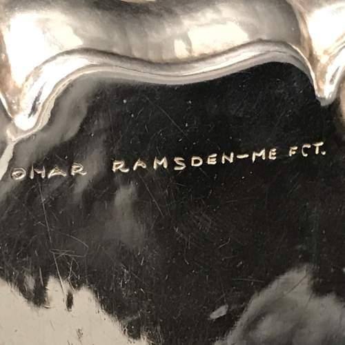 Omar Ramsden 1920s Silver Pin Dish image-5