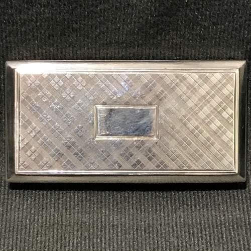 Victorian Silver Castle Top Warwick Castle Snuff Box image-4