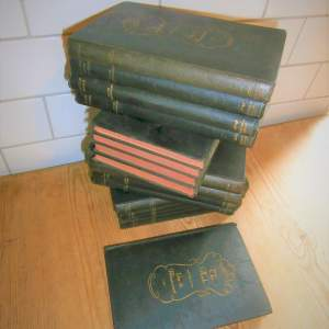 Books:  Guy De Maupassant. 17 of 18 volumes published in the 1920s