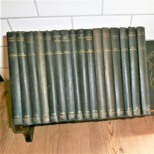 Books:  Guy De Maupassant. 17 of 18 volumes published in the 1920s image-2