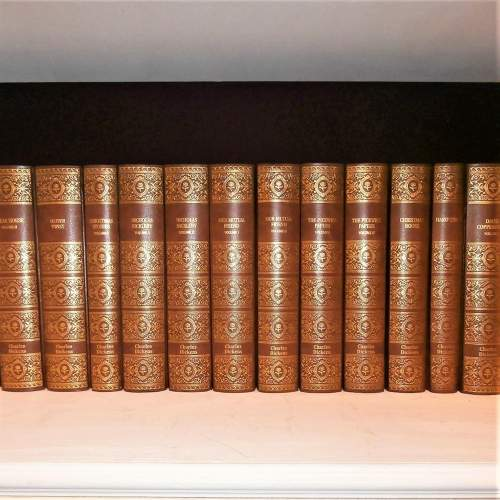 Books: 16 volumes of Charles Dickens by G E Fabri 2003 image-1