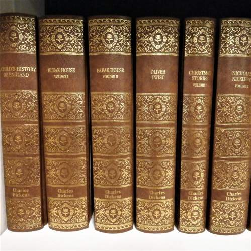 Books: 16 volumes of Charles Dickens by G E Fabri 2003 image-2