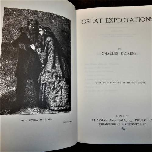 Books: 16 volumes of Charles Dickens by G E Fabri 2003 image-5