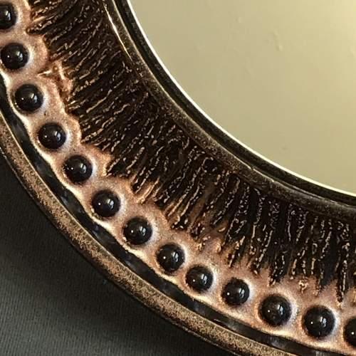 Rare Vintage Scandinavian Ceramic Mirror image-2