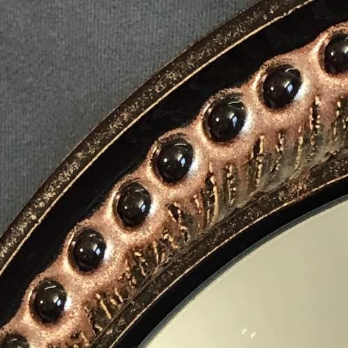 Rare Vintage Scandinavian Ceramic Mirror image-3