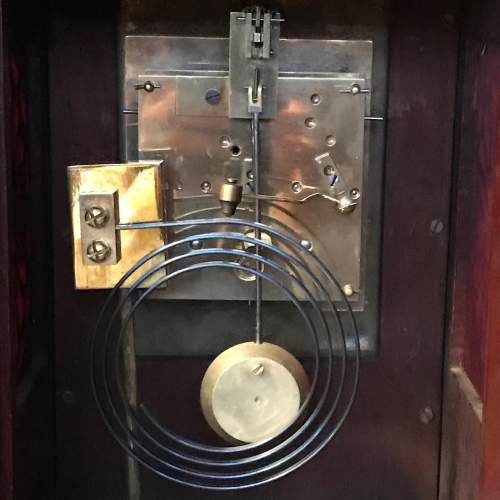Small Proportioned Mahogany Bracket Clock image-6