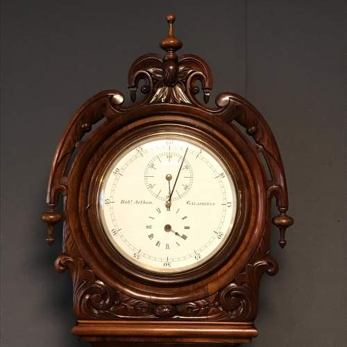 Rob Aitken Precision Regulator Longcase Clock image-2