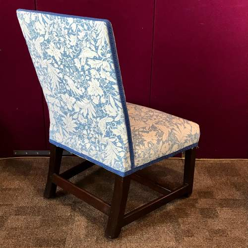 19th Century Upholstered Mahogany Side Chair image-4