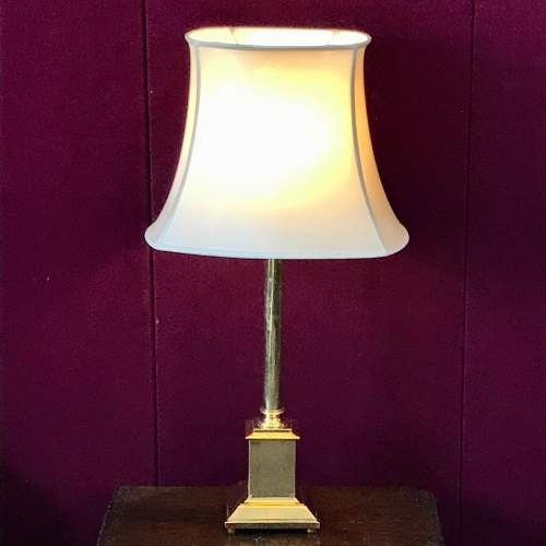 20th Century Brass Table Lamp image-1