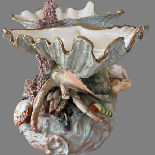 A Victorian Novelty Centrepiece Modelled As A Crab. Circa 1870 image-3