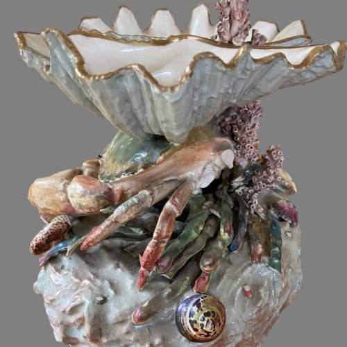 A Victorian Novelty Centrepiece Modelled As A Crab. Circa 1870 image-4
