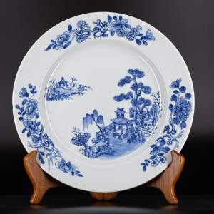 A Chinese Plate from the Nanking Cargo Shipwreck