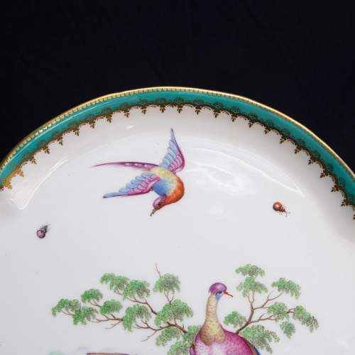 An Antique Minton Quatrefoil Tray image-4