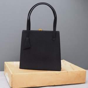 No 58 Black Waldybag  and box