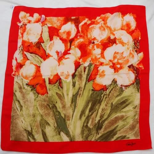 Vintage silk Cornelia James Scarf image-2