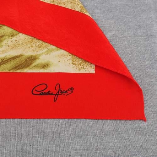 Vintage silk Cornelia James Scarf image-3