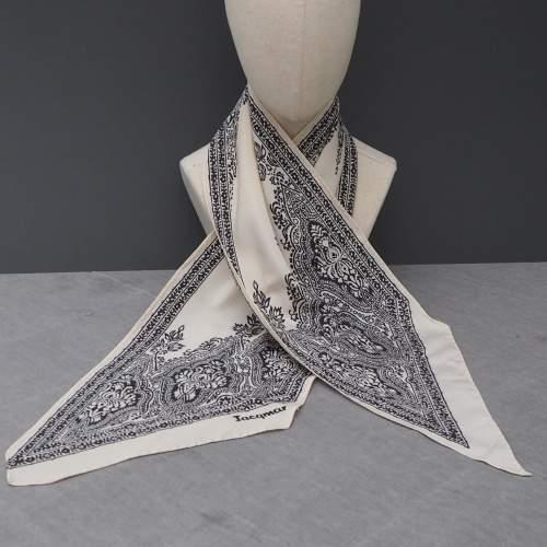 Vintage Silk Paisley Jacqmar Scarf image-1