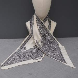 Vintage Silk Paisley Jacqmar Scarf