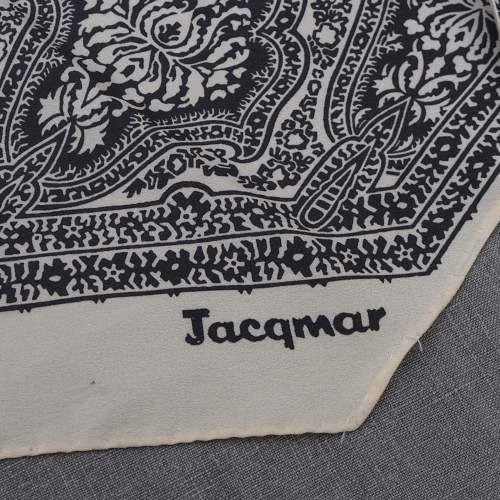 Vintage Silk Paisley Jacqmar Scarf image-2