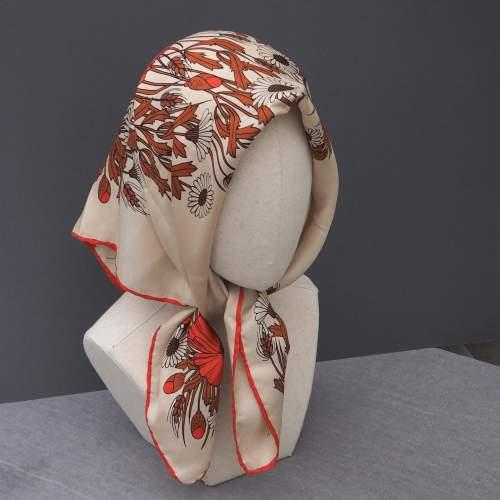 Vintage Silk Jacqmar Scarf image-3