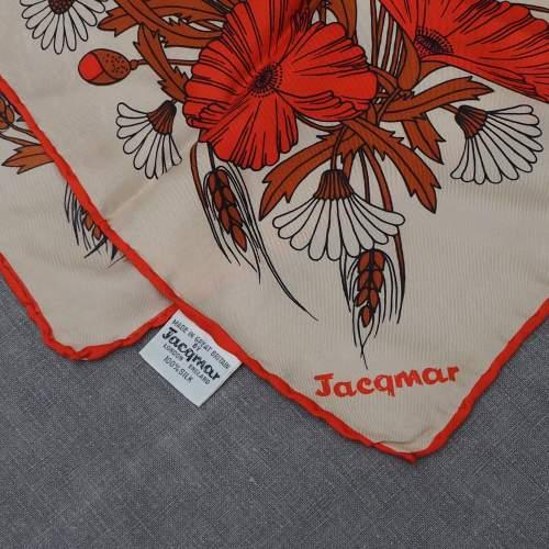 Vintage Silk Jacqmar Scarf image-4