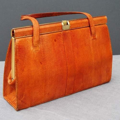 Twin Handle Tan Riviera Handbag image-1