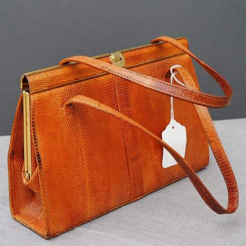 Twin Handle Tan Riviera Handbag image-2