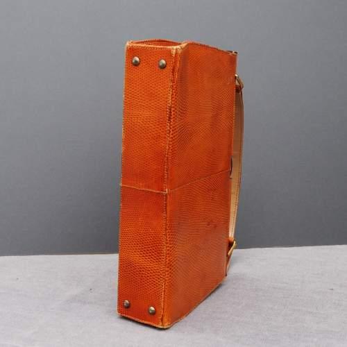 Stuart Apps 1950's/60's Dainty Tan Handbag image-3