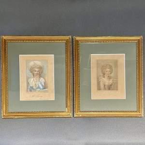 Pair of 18th Century Framed Prints