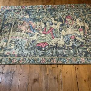 Old French Tapestry Wall Hanging