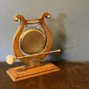 Late Victorian Ceremonial Gong